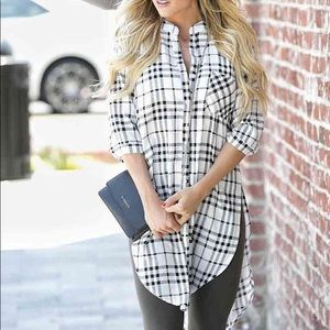 Tops - OVERSIZED Stripped Blouse!